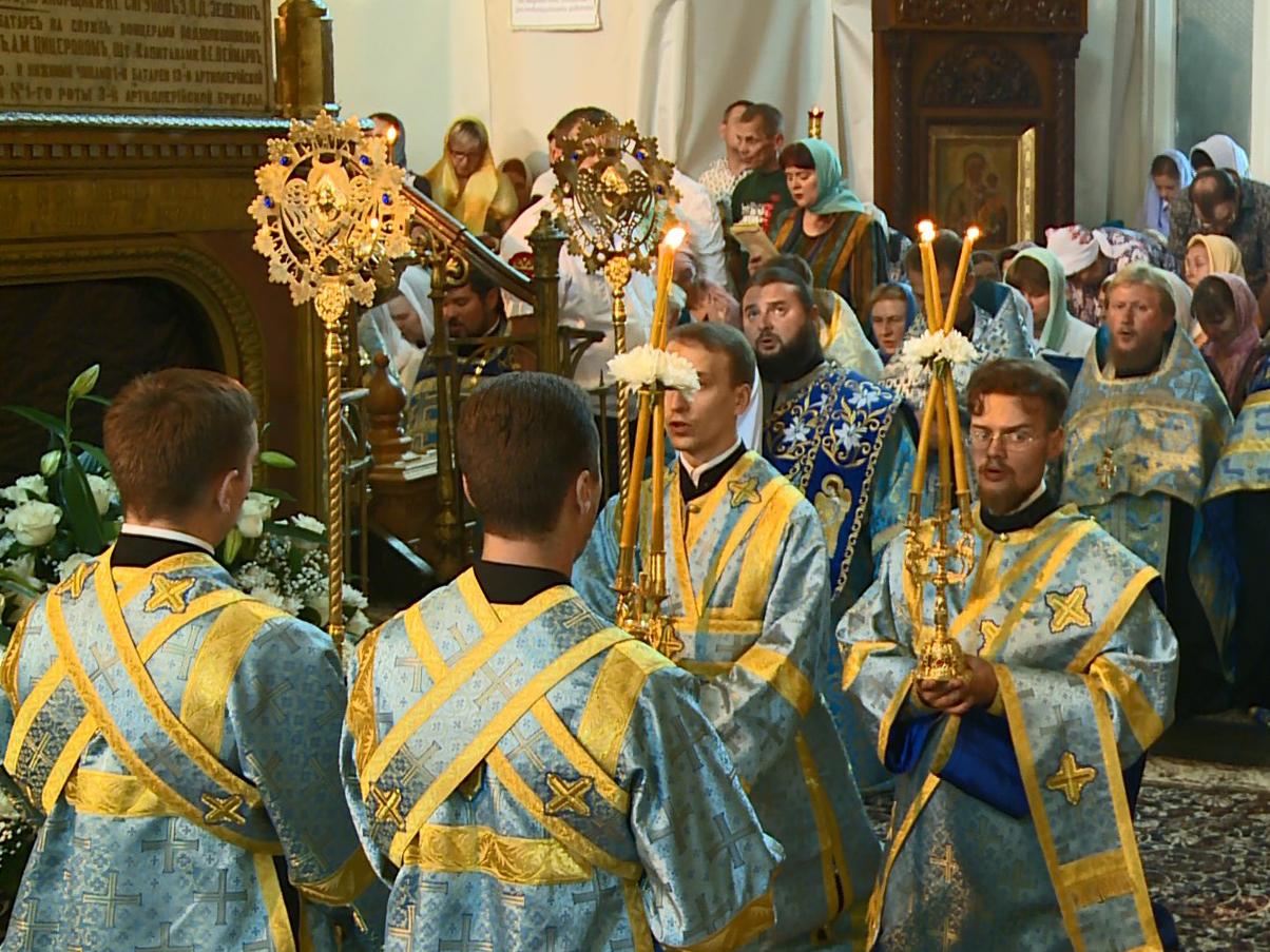 ВСмоленске начались празднества вчесть Одигитрии